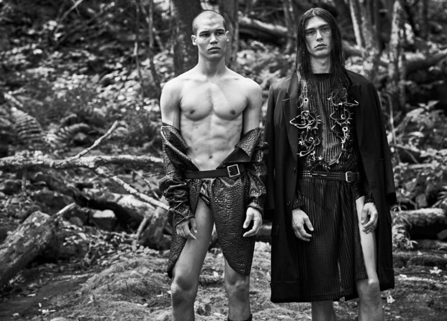 TJ Moore & Payton Andrae by Matthew Brookes – CAP 74024 'Animal Issue'