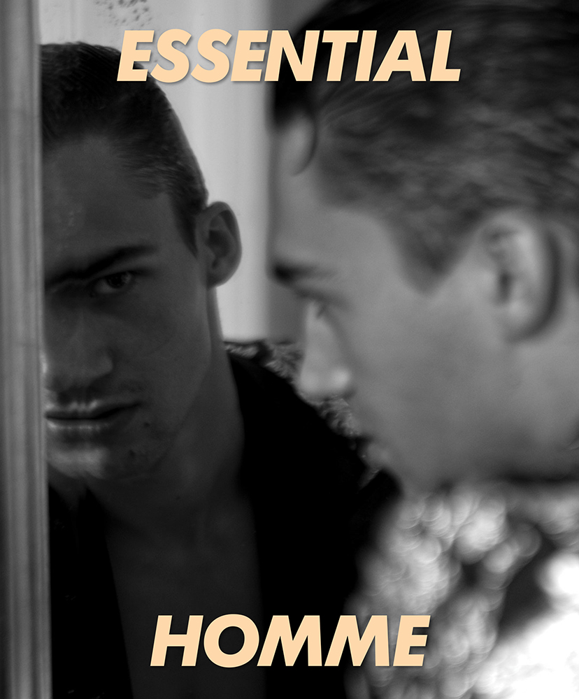 Alessio Pozzi on the cover story of Essential Homme December 2019