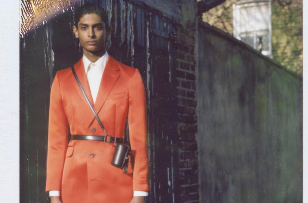 Alexander McQueen Menswear Fall Winter 2020 cover