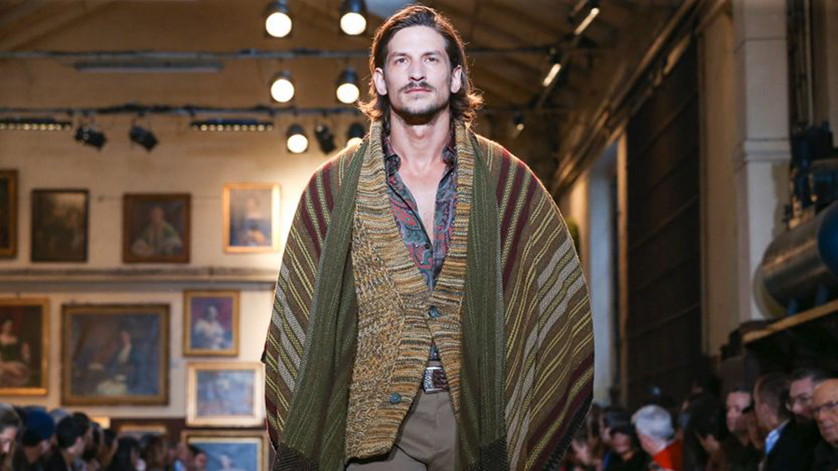 Etro Menswear Fall Winter 2020 Milan cover