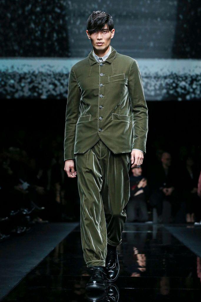Giorgio Armani Menswear Fall Winter 2020 Milan