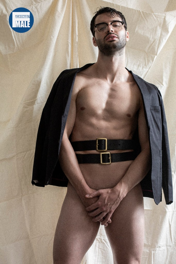 John Wilger by Francisco Fernandez for Fashionably Male