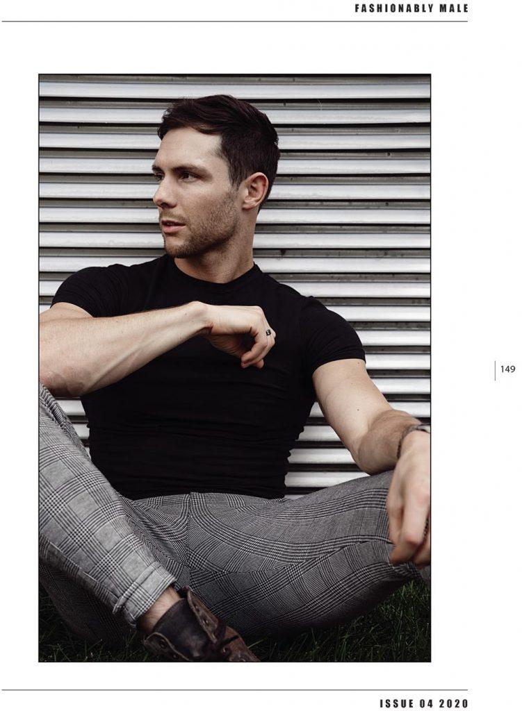 Justin Leonard by Hayden Su for PnVFashionablymale Magazine Issue 04
