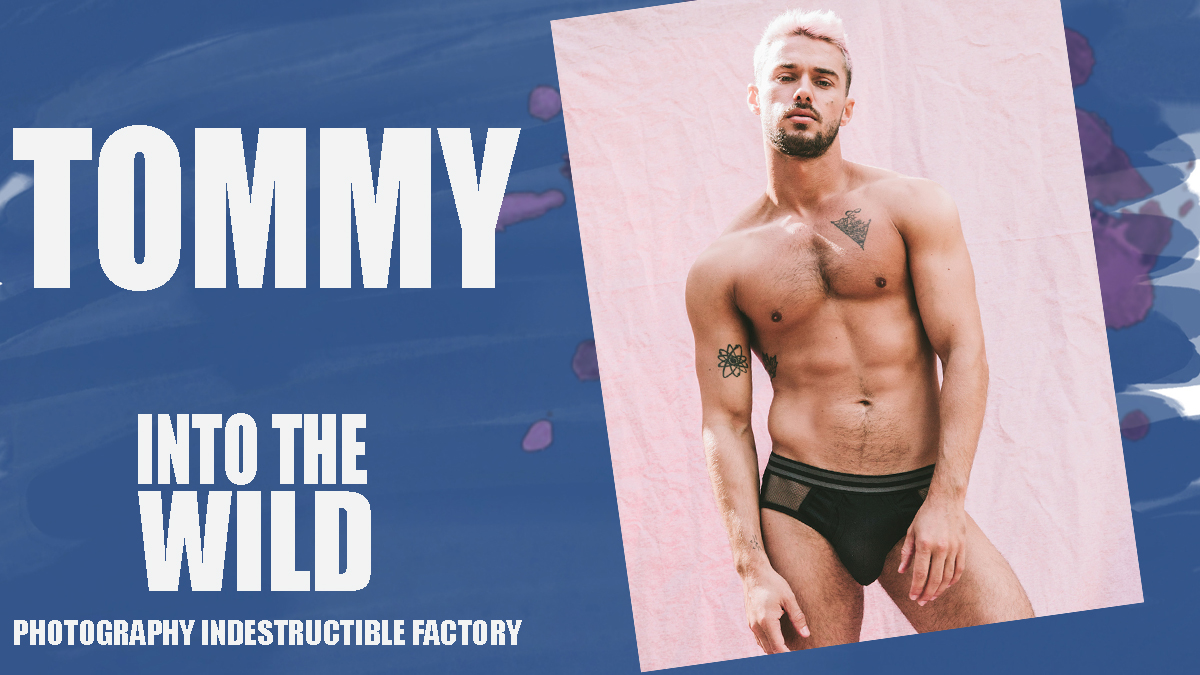 Tommy for PnVFashionablymale Magazine Issue 04 Jan/Feb 2020 cover