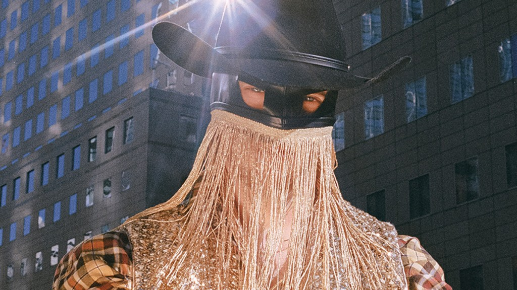 Orville Peck photographed by Emma Craft for Iris Covet Book cover