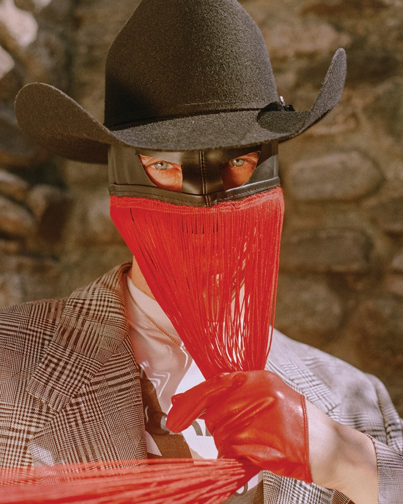 Orville Peck photographed by Emma Craft for Iris Covet Book