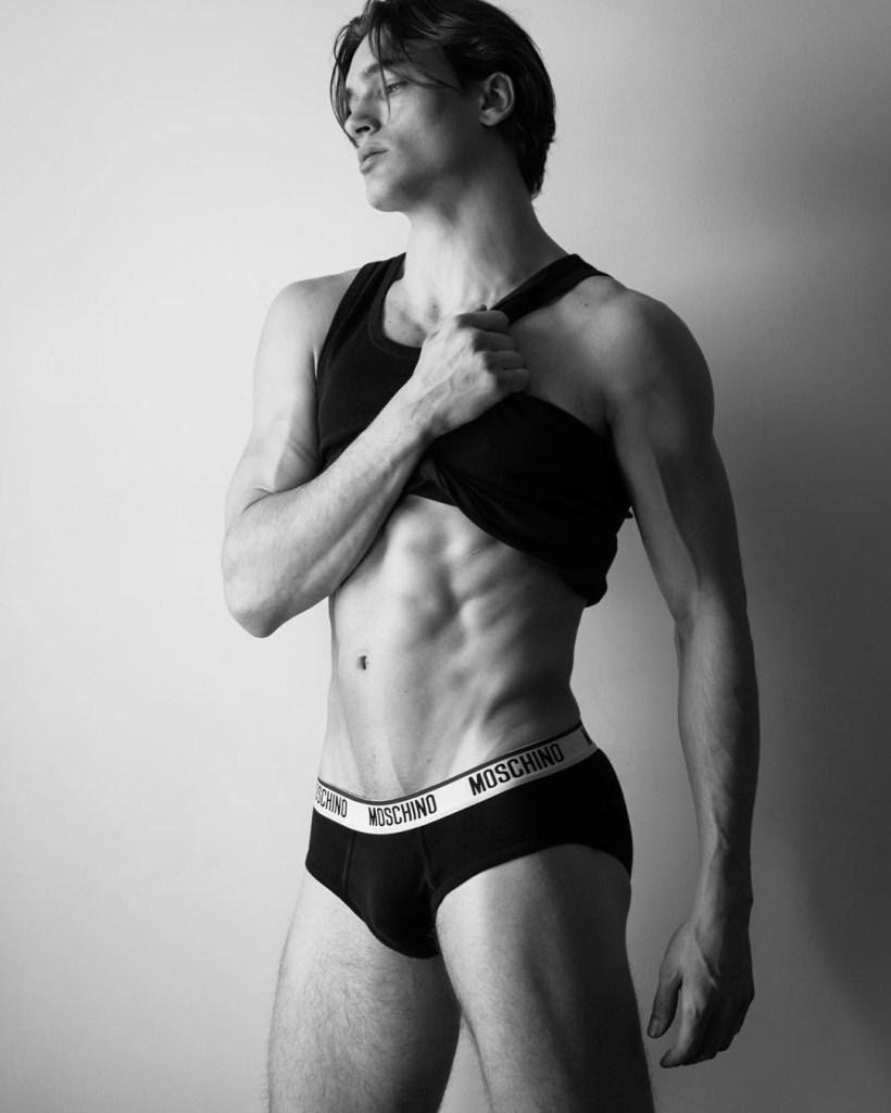 Model Mason McKenrick Snaps By Photographer Dorien