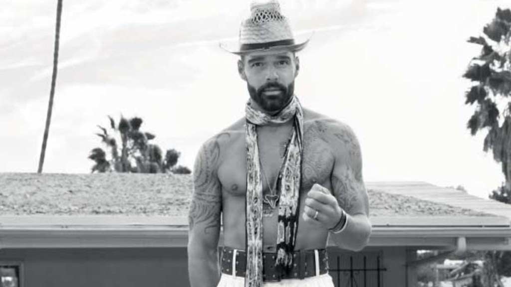 The Now Icon: Ricky Martin for L'Officiel Hommes Italia March 2020 cover
