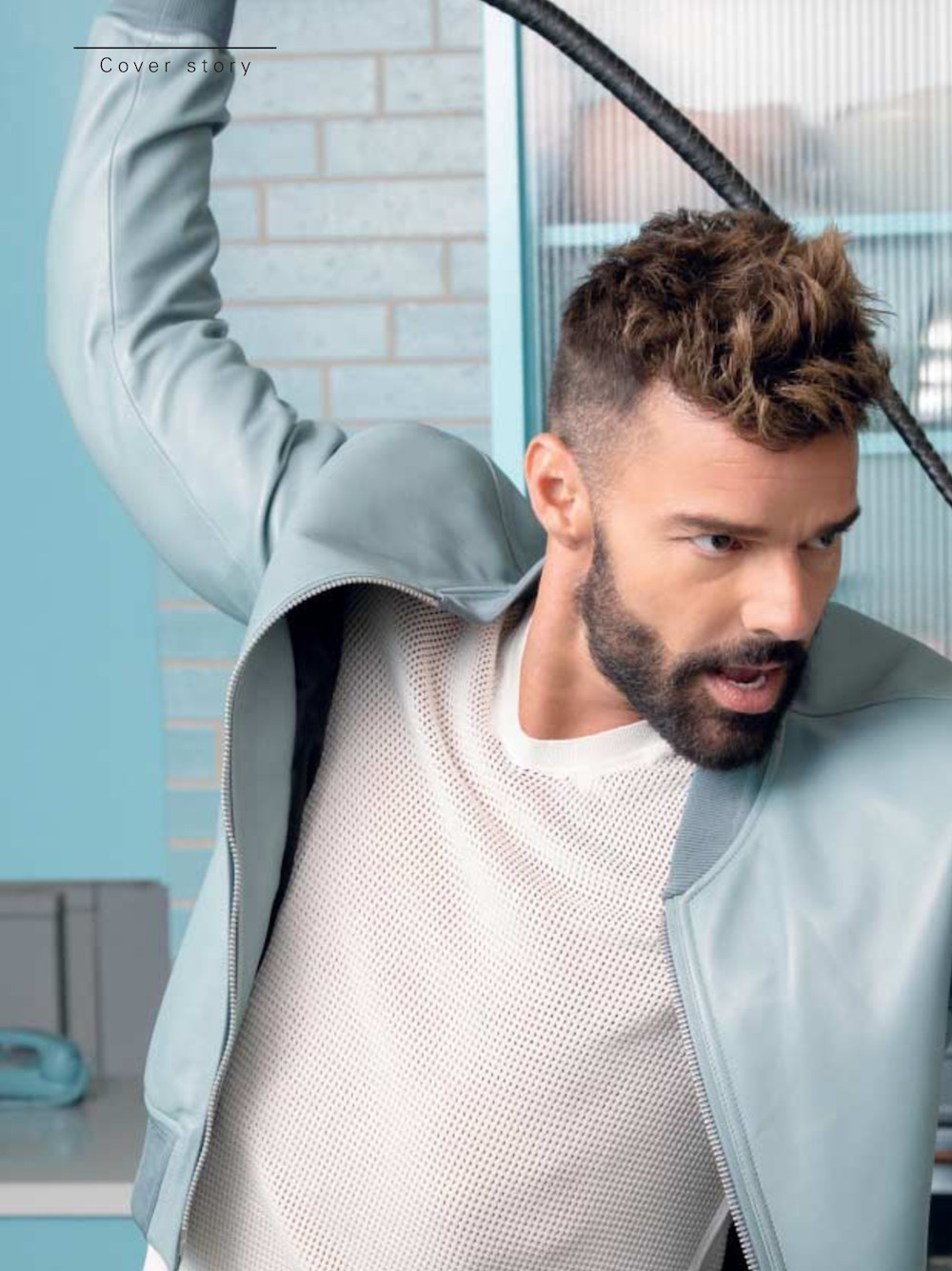 The Now Icon: Ricky Martin for L'Officiel Hommes Italia March 2020