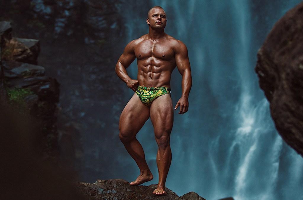 WAPO Wear Campaign with Vegan Muscle Model Mayapur Rapinett Cover