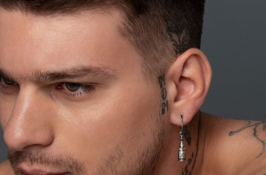 Check Latest Silver Earrings for Men Designs cover