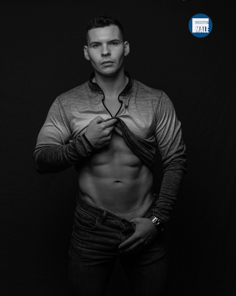 Austen Thompson by Cliqk Photography for Fashionably Male