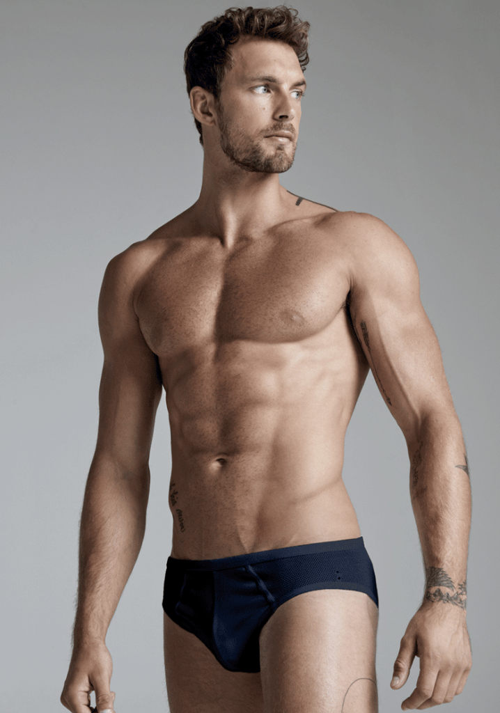 Christian Hogue for Ron Dorff SS20 Underwear