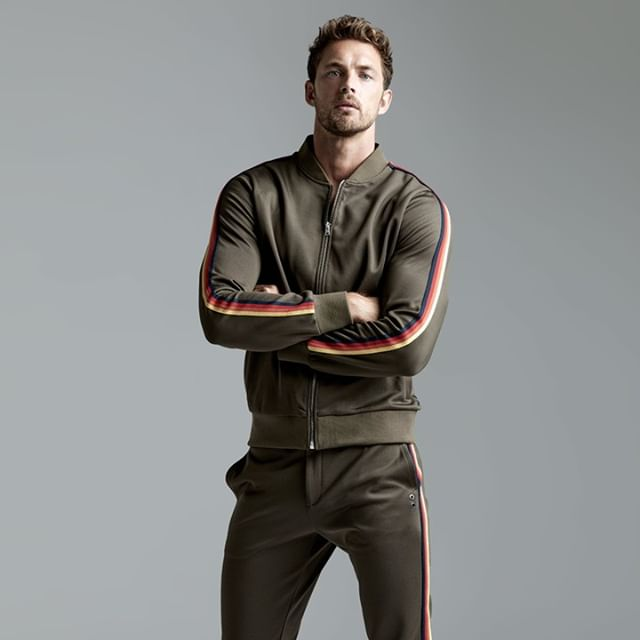 Christian Hogue for Ron Dorff Sportswear