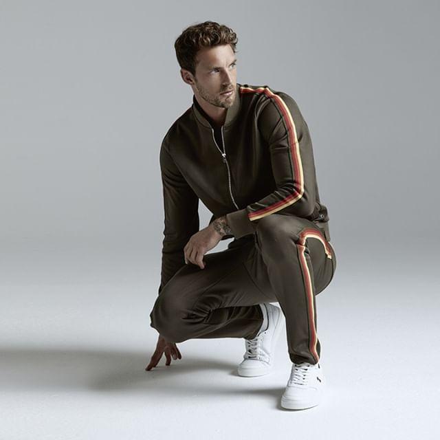Christian Hogue for Ron Dorff Sportswear