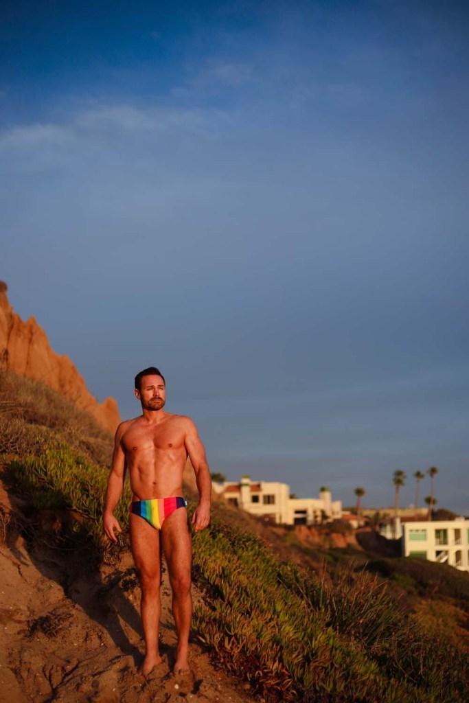 Smithers Swimwear Rainbow REBOUND