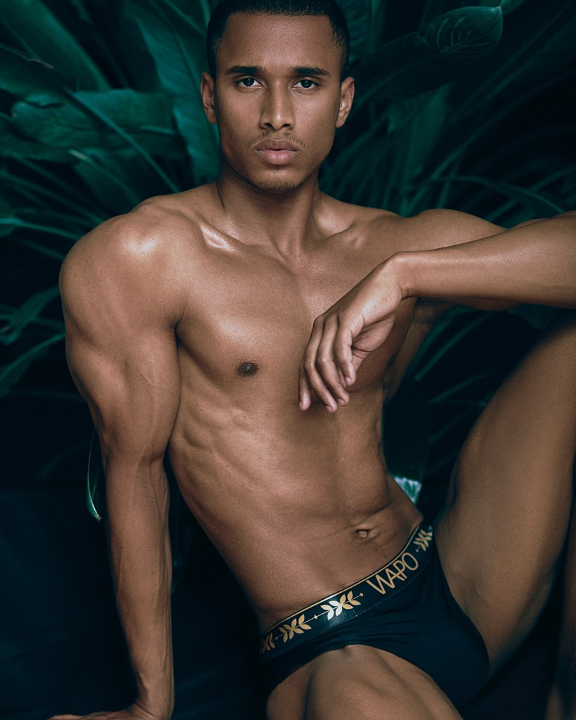 WAPO Wear presents Berlin Model Tom Amponsah in shots by Topper Komm