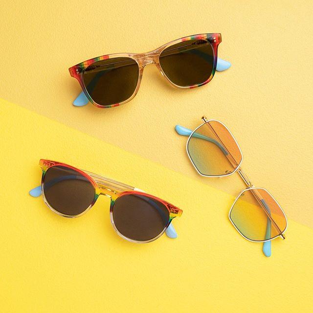 UNITY Rainbow Stripe Men Sunglasses by TOM's