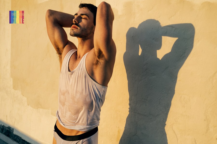 Dominic Albano by William Callan for Fashionably Male