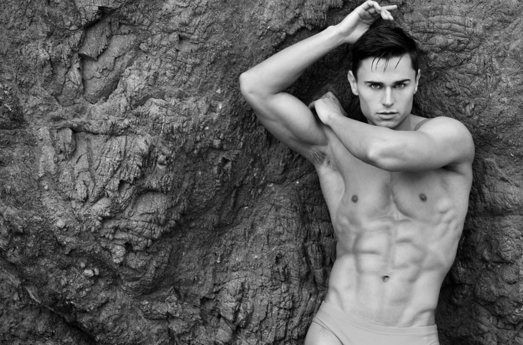 Oleksandr Kalinovskyi by Matthew Mitchell for Fashionably Male cover