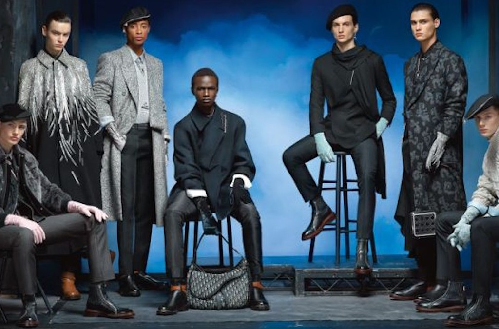 Dior Men Fall/Winter 2020-21 by Steven Meisel cover