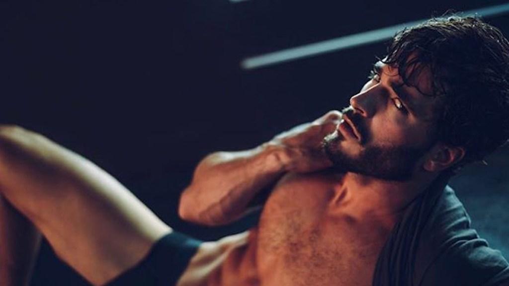 Model Andrew Biernat by Dexter Brown cover