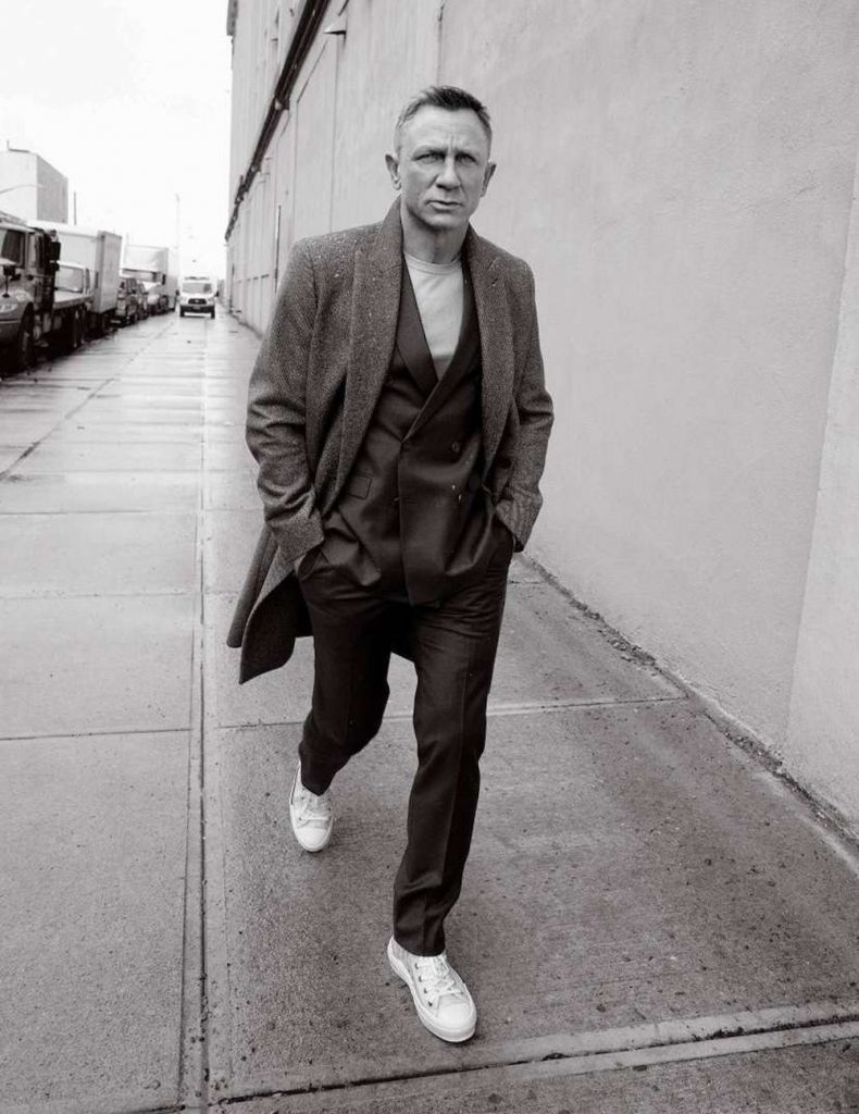 Actor Daniel Craig for Madame Figaro Men's Special September 2020