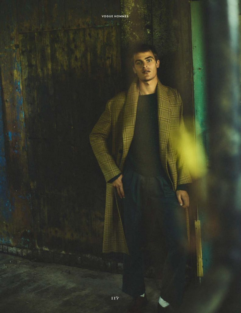 Parker van Noord for Vogue Hommes A/W 20 Editorial