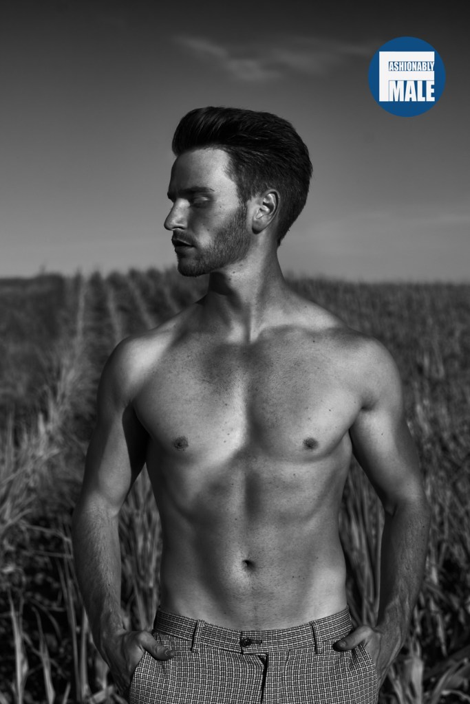 An Exclusive Insight into the shoot with Model Daniel Vogt by Benjamin Klakow