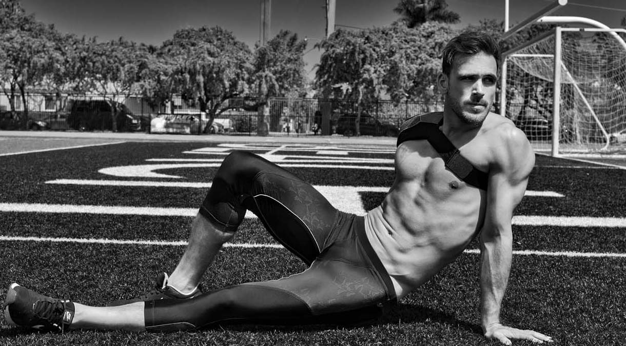 Jonatan Hernandez by Ivan Sanchez for Fashionably Male cover
