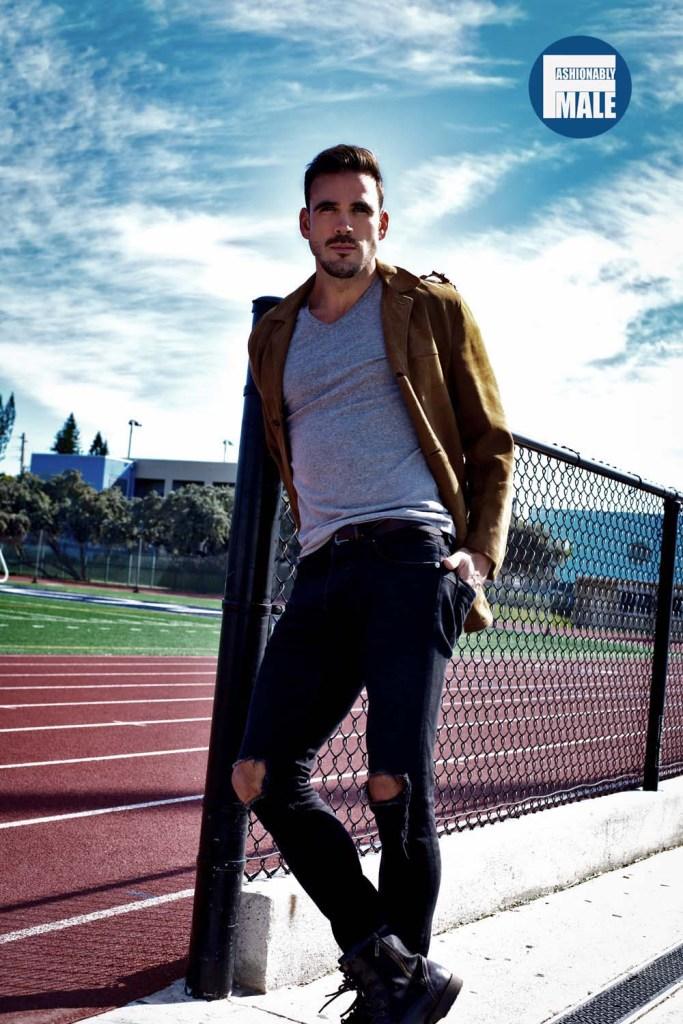 Jonatan Hernandez by Ivan Sanchez for Fashionably Male