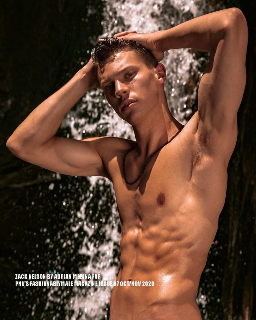 Zack Nelson by Adrian Medina for PnVFashionablymale Magazine Issue 07