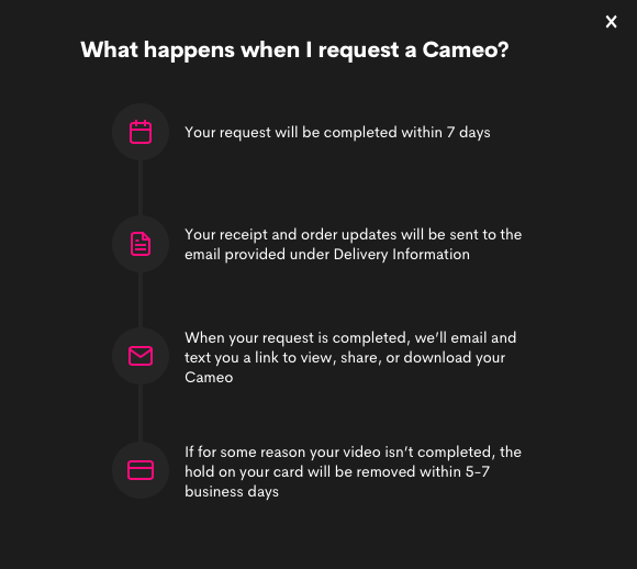 cameo.com instructions
