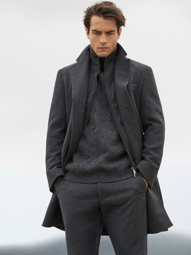 Aleksandar Rusić for Massimo Dutti - New Arrivals Winter 2020