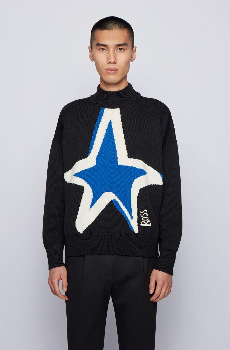 BOSS X Justin Teodoro Holiday 2020 Campaign Sweatshirt