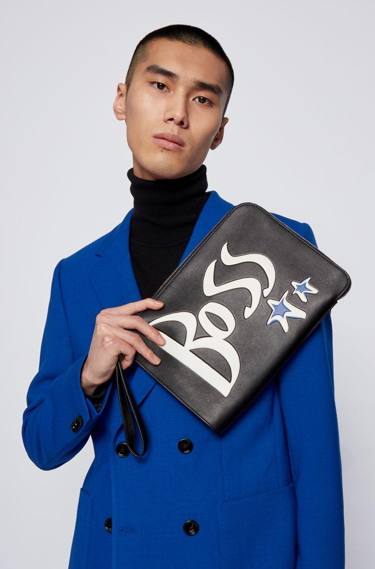 BOSS X Justin Teodoro Holiday 2020 Campaign bag