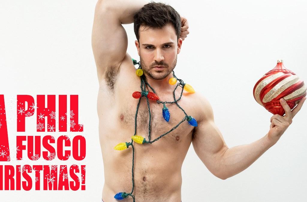 Philip Fusco by Eduardo Fermin Christmas Special PnVFashionably Male cover