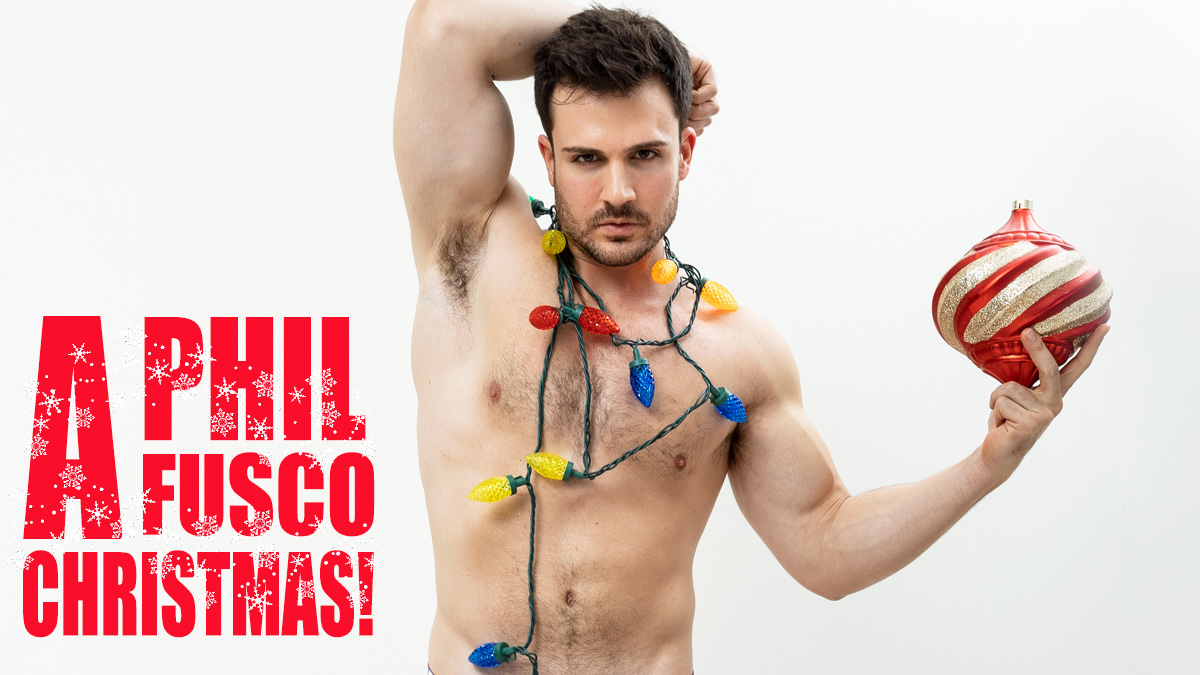 Philip Fusco by Eduardo Fermin Christmas Special PnVFashionably Male cover