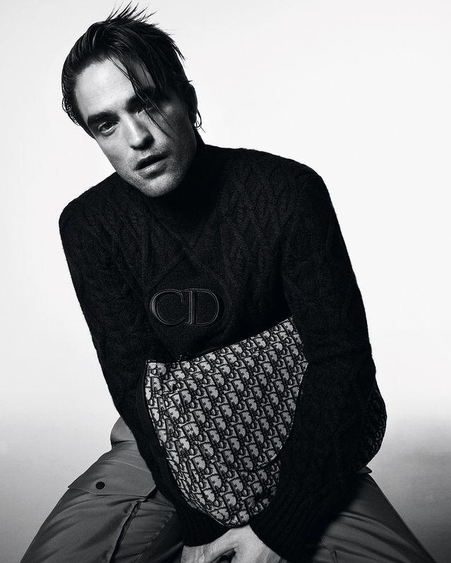 Robert Pattinson for Dior by David Sims