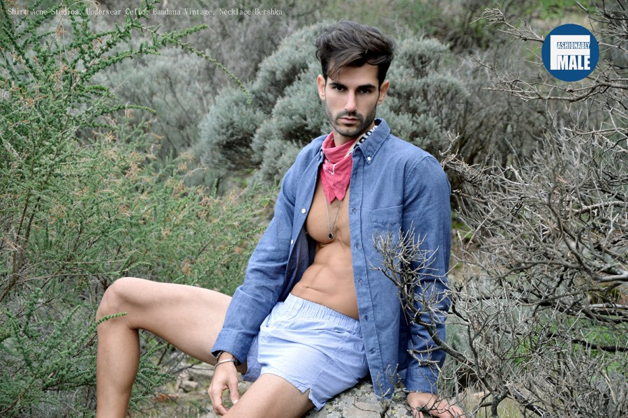 Jose Rodriguez by Laurent Mac for Fashionably Male