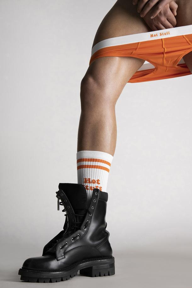 Dsquared2 Launches Valentine's Day Exclusive Online Underwear Stuff Socks