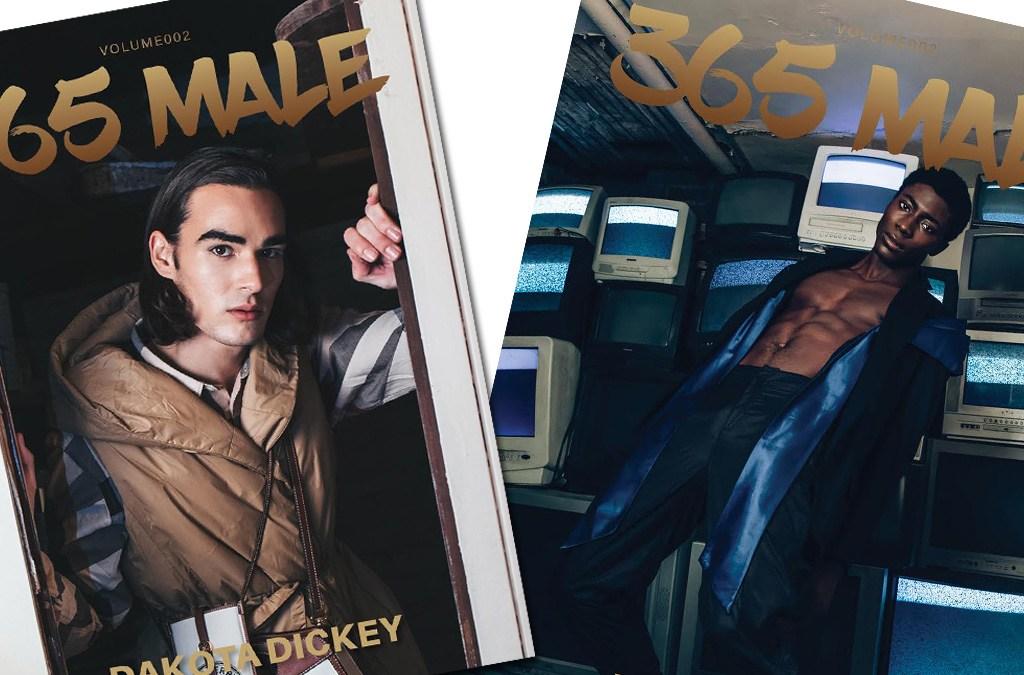 365 Male Model cover with Dakota and Yabi