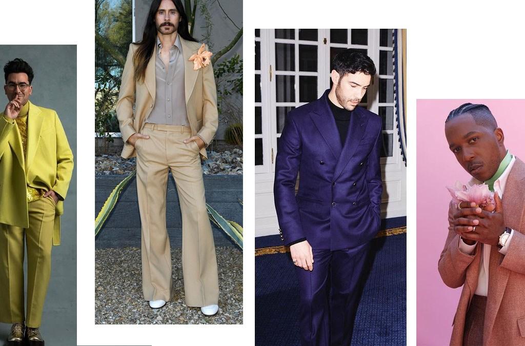 Best Dressed Men on 2021 Golden Globes awards cover
