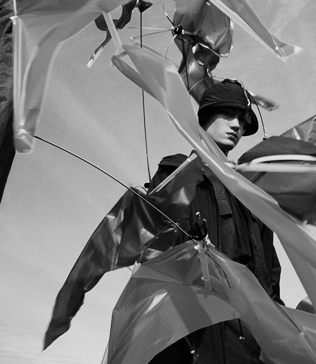 Image series by Jack Davison for CRAIG GREEN Spring:Summer '21