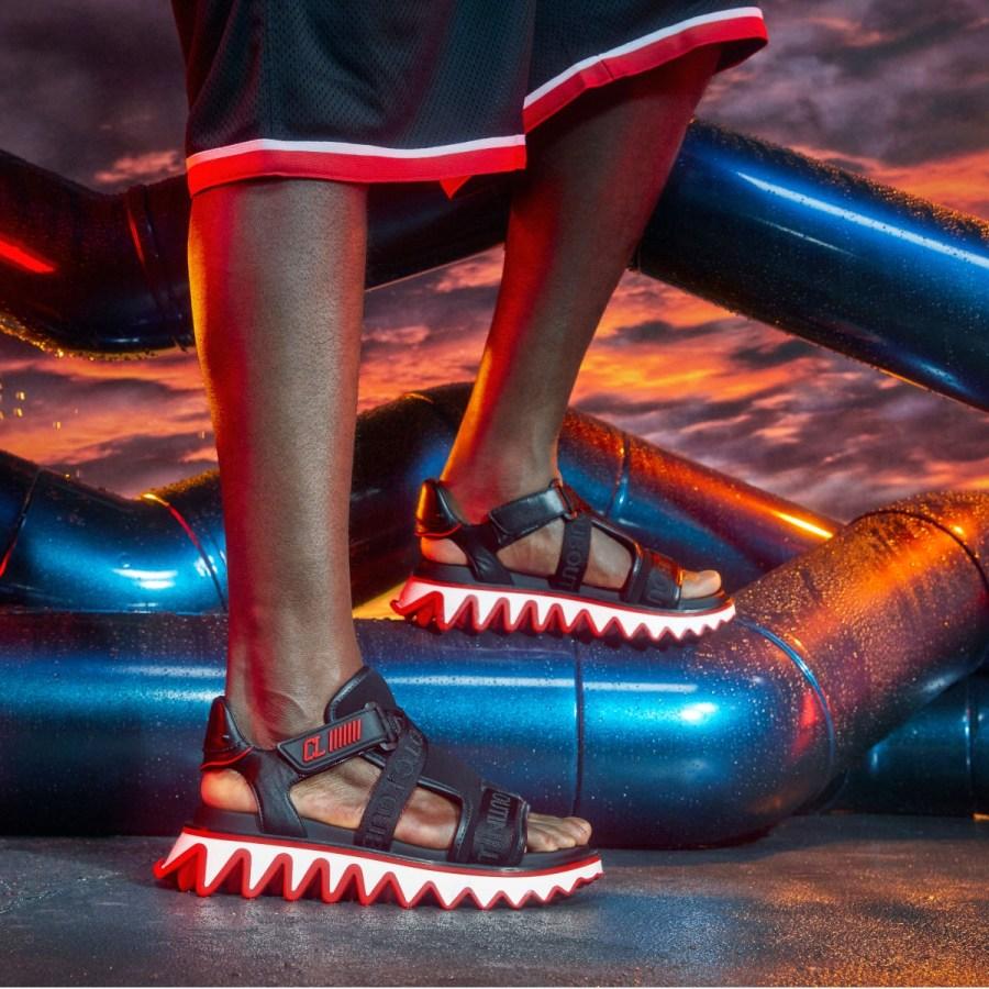 Keep your looks razor sharp with Christian Louboutin's Loubishark – flat