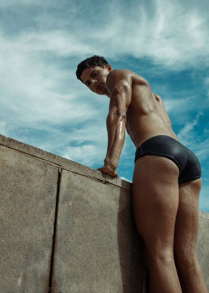 Eyes on: Nacho Penín photographed by Alejandro Brito