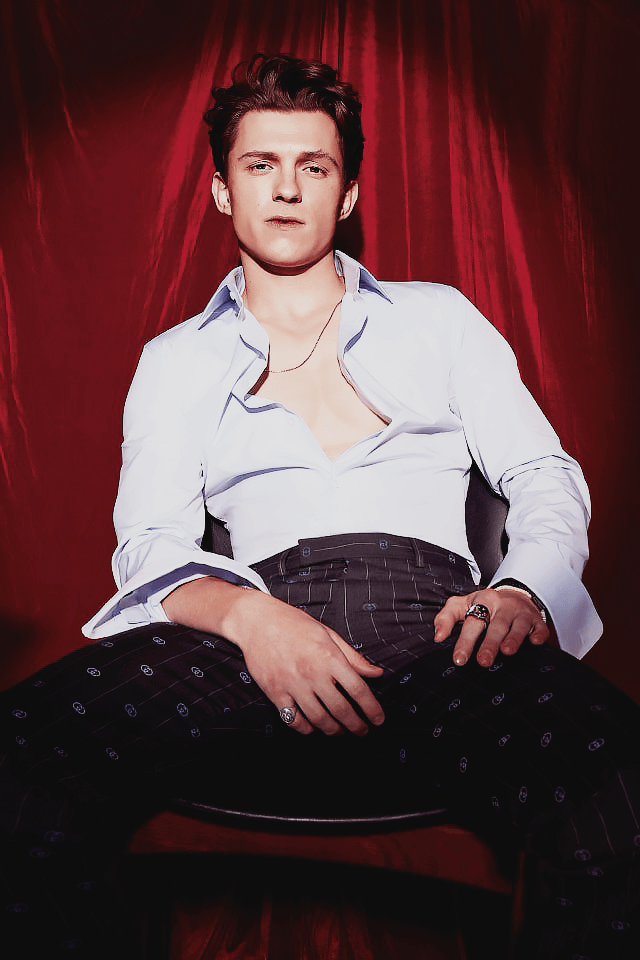 Tom Holland for British GQ April 2021 Editorial