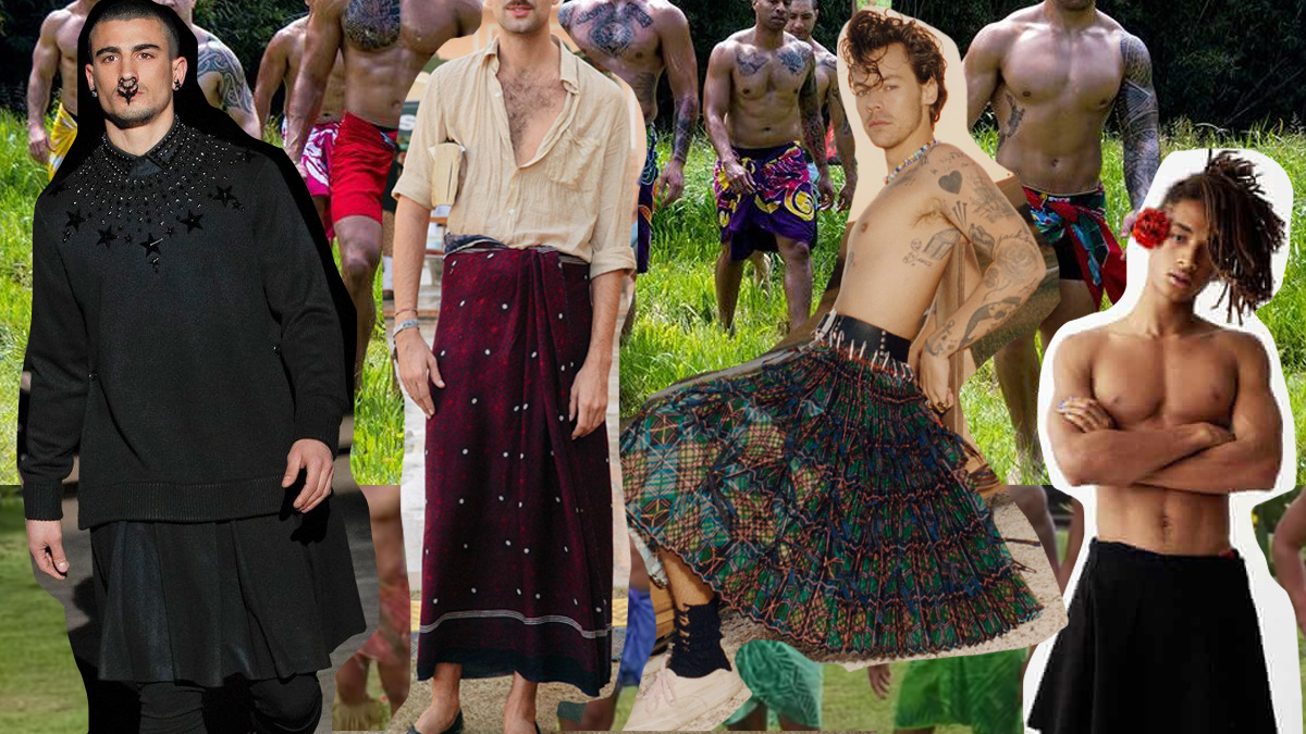 Why Men Wanted to Wear Skirts