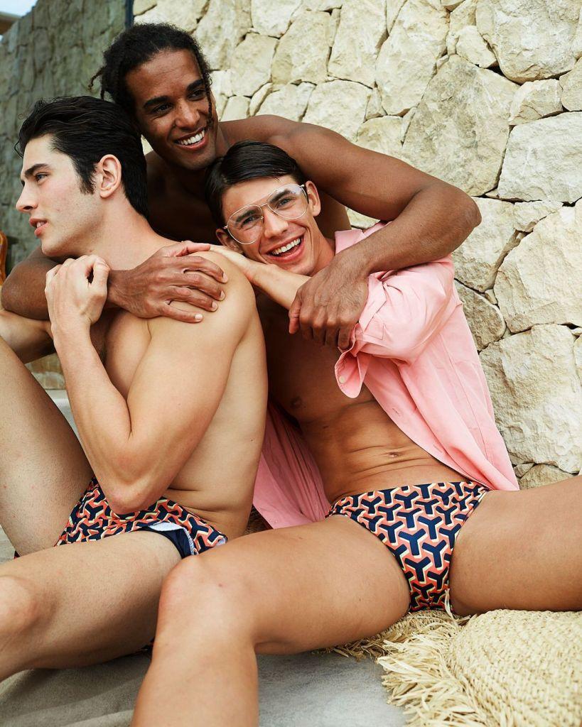Alessio Martin, Dani Garcia, & Gioele Patroni by Johan Anastasiadis – Yes I Am S/S 2021