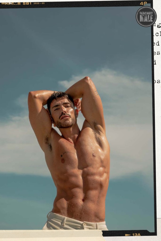 Leonel Lugon by Jon Gacela for Fashionably Male